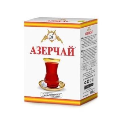 Чай черный Азерчай с ароматом бергамота среднелистовой