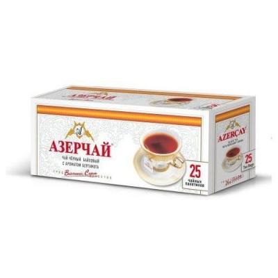 Чай черный с бергамотом Азерчай 25пак без конверта