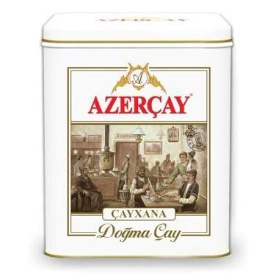 чай черный Азерчай 'Чайхана' среднелистовой с бергамотом
