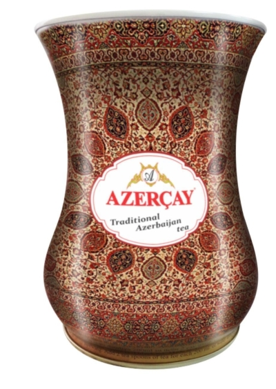 Чай черный Азерчай 'Armudu' среднелистовой с чабрецом (ковер)