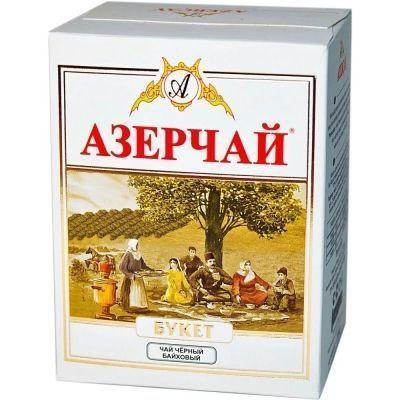 Чай зеленый Азерчай Букет крупнолистовой