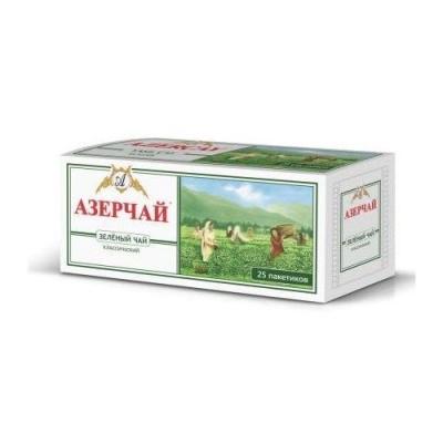 Чай зеленый Азерчай пакетированный 25пак с конвертом