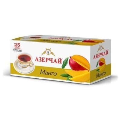 Чай черный расфасованный Азерчай манго 25пак с конвертом
