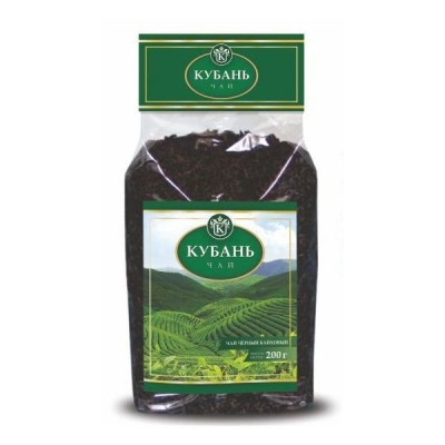 Чай черный 'Кубань' крупнолистовой