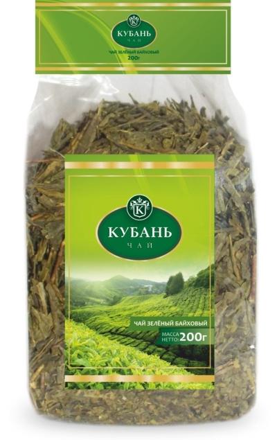 Чай зеленый 'Кубань' листовой