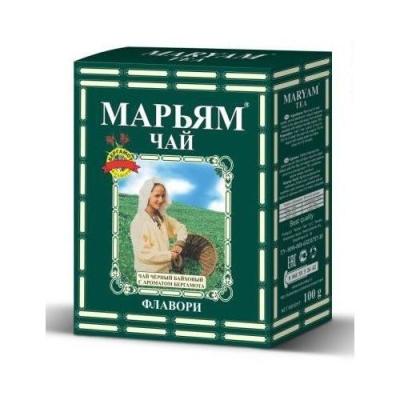 Чай черный 'Maryam flavory' среднелистовой с бергамотом