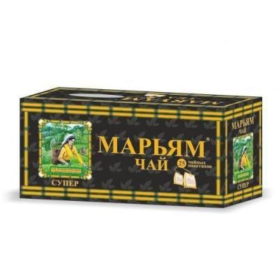 Чай черный 'Maryam super' с бергамотом 25 пак с конвертом