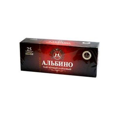 Чай черный 'Альбино' байховый 25 пак