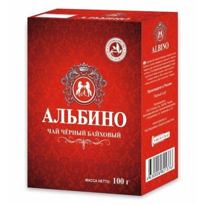 Чай черный 'Альбино' листовой