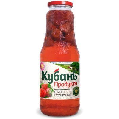 Компот 'Кубань Продукт' из клубники