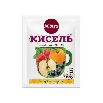 Кисель моментальный Айдиго плодово-ягодный