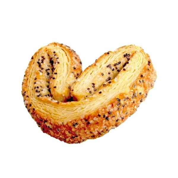 Печенье слоеное Метрополис Веретено с маком
