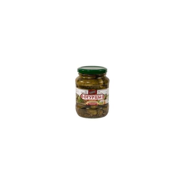Огурцы маринованные 3-6 см Стоевъ ст-евро
