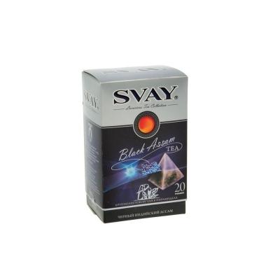 Чай Svay Black Assam крупнолистовой 20 пирамидок