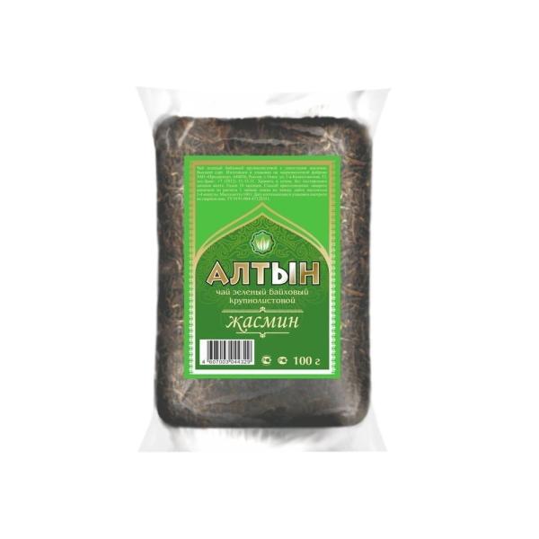 Чай Алтын зеленый с жасмином м/у