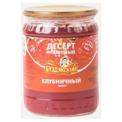 Десерт фруктовый Буздякский клубничный аромат