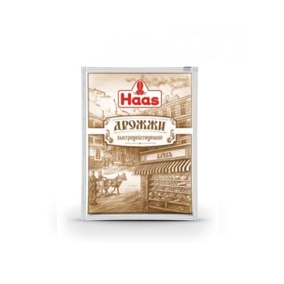 Дрожжи сухие HAAS пекарские быстродействующие