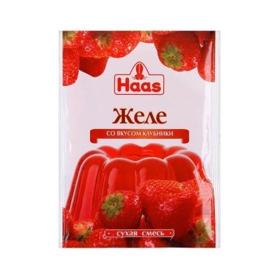 Желе HAAS со вкусом Клубника