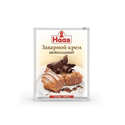Крем заварной HAAS Шоколадный