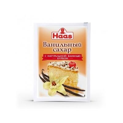 Сахар ванильный HAAS с натуральной ванилью сорт Бурбон