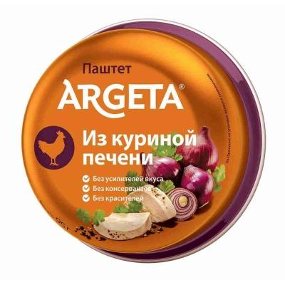 Паштет ARGETA из Куриной печени ж/б