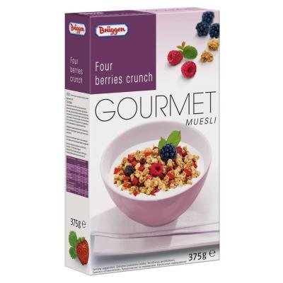Мюсли BRUGGEN Gourmet с Лесными ягодами 'Four beries'
