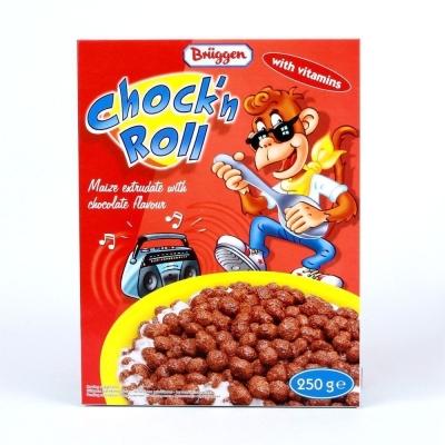 Хлопья кукурузные BRUGGEN с шоколадом 'Chock`N Roll'