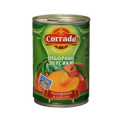Персики CORRADO в сиропе половинки