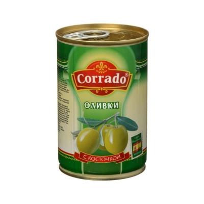 Оливки CORRADO С косточкой ж/б ключ