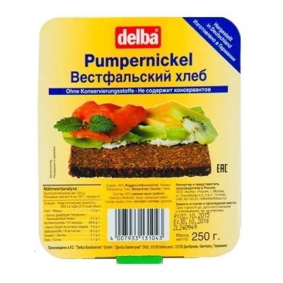 Хлеб ржаной Delba Вестфальский