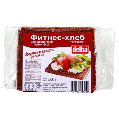 Хлеб-фитнес ржаной Delba LONG длинные брикеты