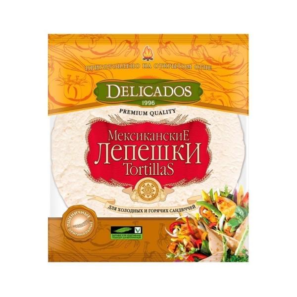 Лепешки Мексиканские DELICADOS Tortillas Mission Пшеничные Оригинальные