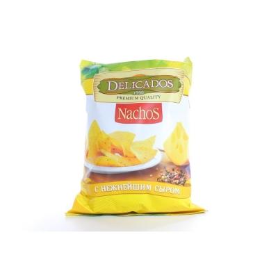 Чипсы кукурузные DELICADOS Nachos Сыр