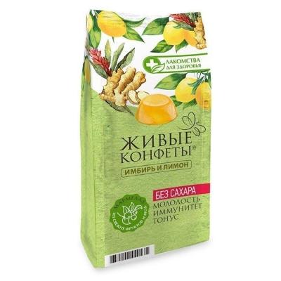 Мармелад желейный Лакомства для здоровья с имбирем и лимоном