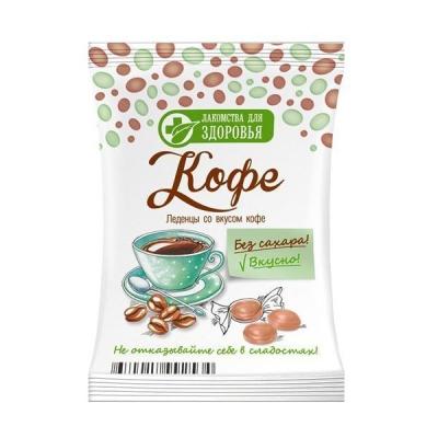 Карамель леденцовая Лакомства для здоровья без сахара на изомальте со вкусом кофе