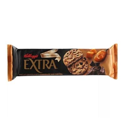 Печенье Гранола Kellogg's с шоколадом и карамелью