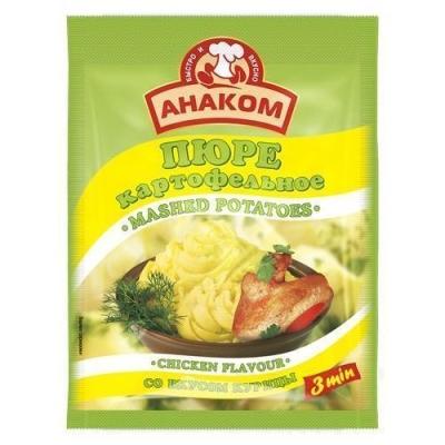Пюре картофельное Анаком быстрого приготовления вкус курицы (пакет)