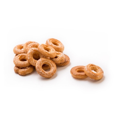 Печенье Баттерфляй Колечки хрустящие с сахаром