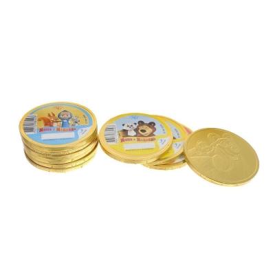 Медали шоколадные Монетный Двор Маша и Медведь
