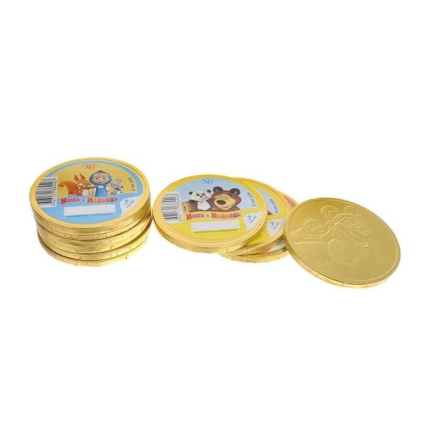Монеты шоколадные Монетный Двор Маша и Медведь