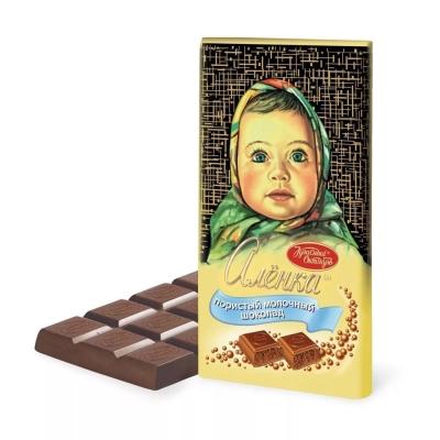 Шоколад Красный Октябрь Аленка пористый