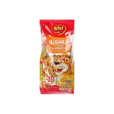 Сухой завтрак ОГО пшеница с карамелью