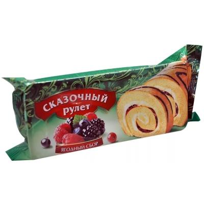 Рулет Сказочный ягодный сбор