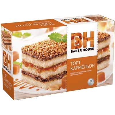 Торт бисквитный Baker House Карамельон