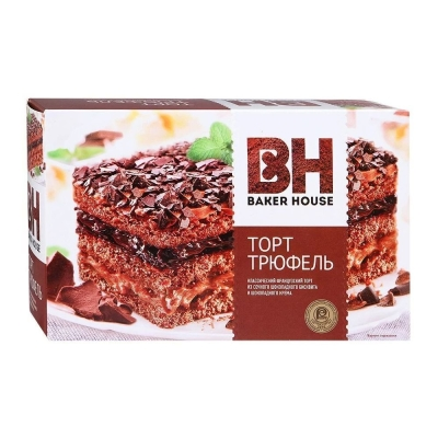 Торт бисквитный Baker House Трюфель
