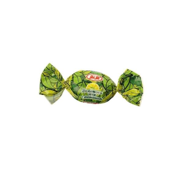 Карамель леденцовая Sla Sti зеленый чай, лимон