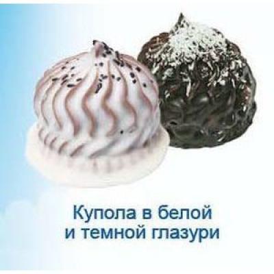 Печенье Ванюшкины Сладости Купола в белой и темной глазури (Венец)