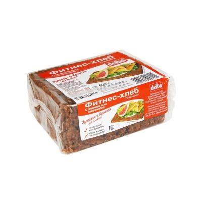 Хлеб Delba ржаной с семенами льна