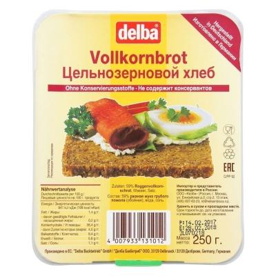 Хлеб Delba ржаной цельнозерновой