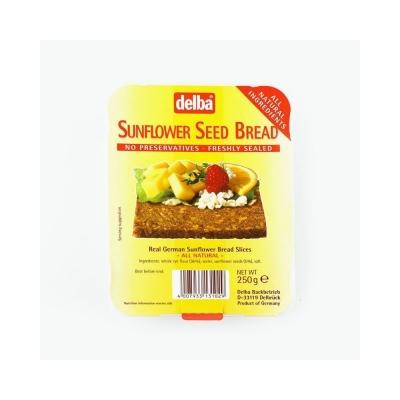 Хлеб Delba ржаной с семенами подсолнечника